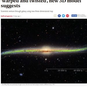 Wielka Brytania, The Independent: https://www.independent.co.uk/news/science/milky-way-galaxy-space-warped-twisted-astronomy-stars-black-hole-astronomy-a9035331.html
