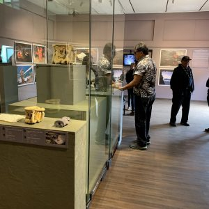 Wystawa archeologów z UW na Wyspie Wielkanocnej. Fot. M. Sobczyk