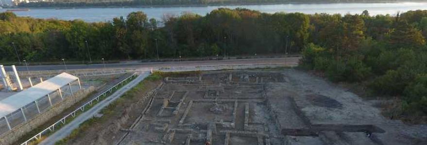 Prace archeologiczne w Novae. Fot. dr Martin Lemke.