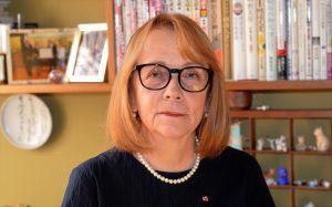 Prof. Ewa Pałasz-Rutkowska, laureatka Nagrody Fundacji Japońskiej. Fot. archiwum prywatne.