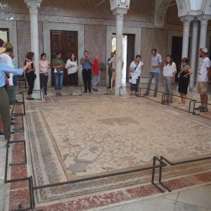 Posadzki podłogowe w muzeum Bardo. Fot. T. Waliszewski