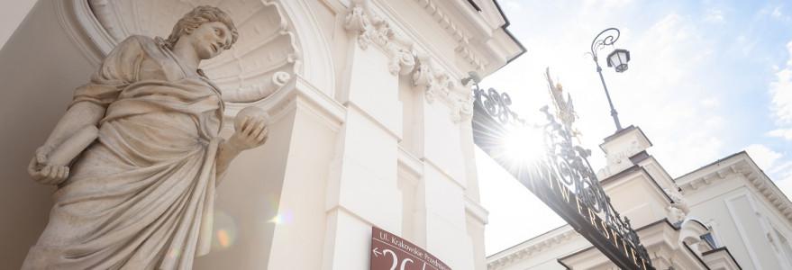 Brama UW, 09.2019, fot. M. Kaźmierczak