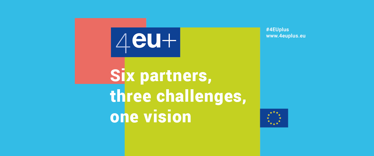 Baner 4EU+ Six partners, three challenges, one vision