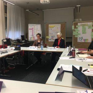 """Spotkanie partnerów projektu """"Akademickie Partnerstwo na rzecz Innowacji w Nauczaniu i Uczeniu się"""" w Heidelbergu. Fot. Cestmir Stuka, Bartłomiej Michałowicz."""