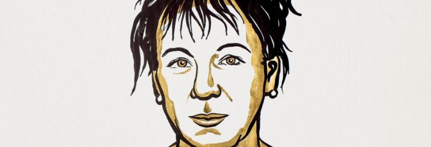 Olga Tokarczuk, Nagroda Nobla 2018, ilustracja: Niklas Elmehed. © Nobel Media.