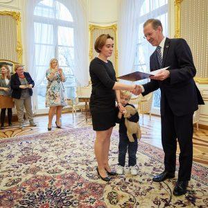 Uroczystość wręczenia nagrody dydaktycznej rektora UW, 2019