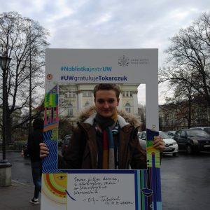 Maksymilian Majewski, student Ośrodka Studiów Amerykańskich