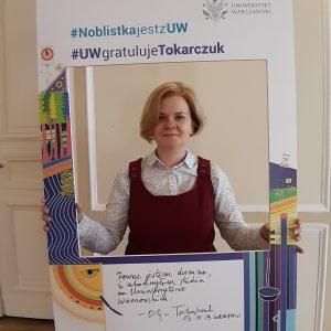 dr Anna Miotk,Wydział Dziennikarstwa, Informacji i Bibiologii