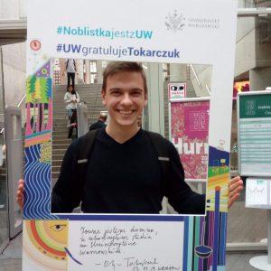 Dominik Światkowski, student prawa