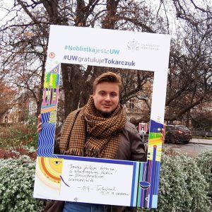 Kacper Andruszczak, student historii sztuki