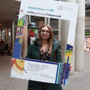 Izabela Awgustiuk, studentka polityki społecznej