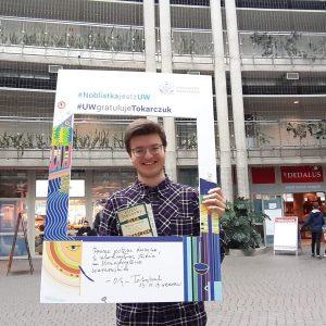 Krzysztof Colbert, student prawa