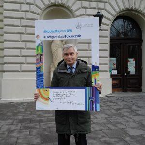 Prof. Tadeusz Tomaszewski, Wydział Prawa i Administracji