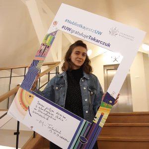 Natalia Zdrojewska, studentka Instytutu Kultury Polskiej