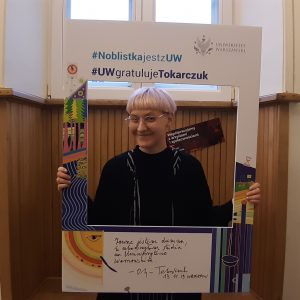 Magdalena Morawik, studentka Instytutu Kultury Polskiej