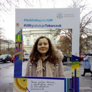 Klaudia Zubiak, studentka Wydziału Orientalistycznego