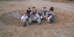 Drużyna University of Warsaw Rover Team podczas IRC 2020. Fot. Facebook.com/uwroverteam.