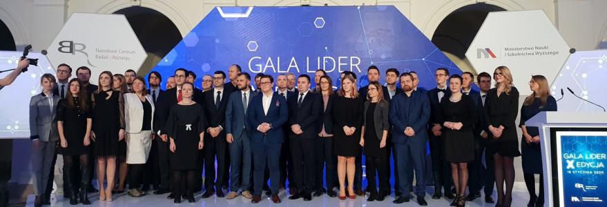 Gala X edycji Programu LIDER. Fot. konto NCBR na Twitterze