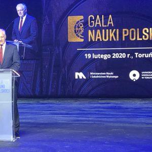 Gala Nauki Polskiej. Fot. Konto MNiSW na Twitterze.