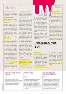 Okładka pisma uczelni, nr 94-1, 2020