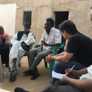 W rozmowach brali udział przedstawiciele CAŚ UW. Fot. CAŚ UW.