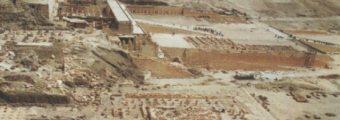 Stanowisko Deir el-Bahari w Egipcie. Fot. A. Niwiński.