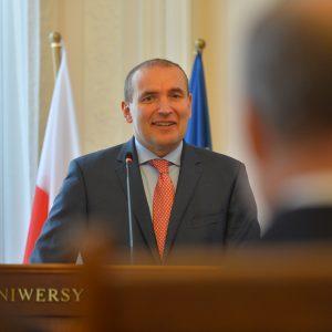 Wizyta prezydenta Islandii na UW