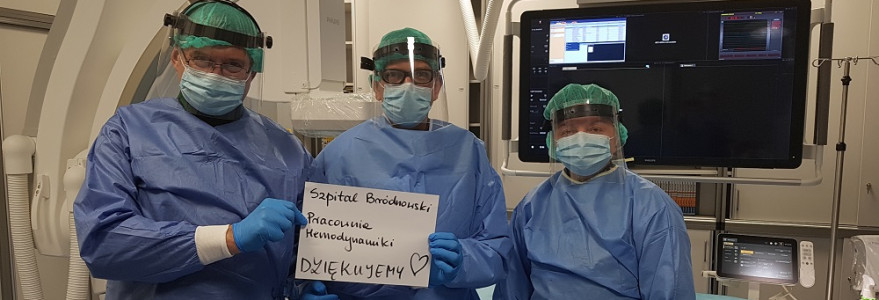 Fot. Zespół ze Szpitala Bródnowskiego