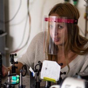 Anita Gardias, Instytut Fizyki Doświadczalnej, Wydział Fizyki, Fot. J. Rybusiński