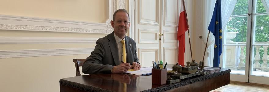 Prof. Marcin Pałys, rektor UW. Fot. UW