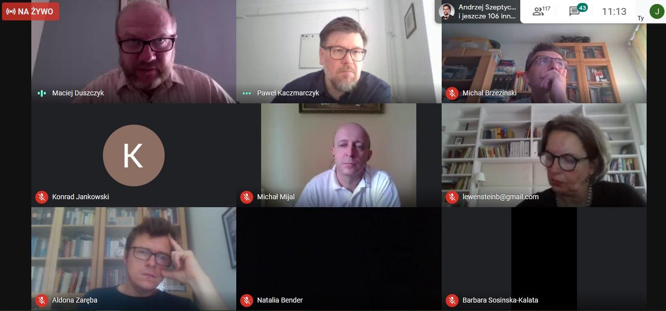 Spotkanie online poświęcone POB V