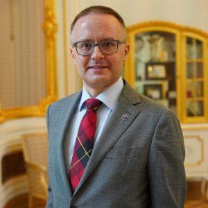 dr hab. Maciej Raś, prodziekan ds. studenckich na Wydziale Nauk Politycznych i Studiów Międzynarodowych
