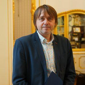 dr hab. Krzysztof Skwierczyński, prof. ucz., prodziekan ds. studenckich na Wydziale Nauk o Kulturze i Sztuce