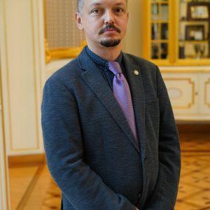 """dr hab. Przemysław Kordos, prodziekan ds. studenckich na Wydziale """"Artes Liberales"""""""