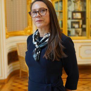 prof. dr hab. Beata Krasnodębska-Ostręga, prodziekan ds. studenckich na Wydziale Chemii