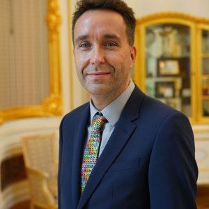 dr hab. Krzysztof Turzyński, prof. ucz., prodziekan ds. studenckich na Wydziale Fizyki