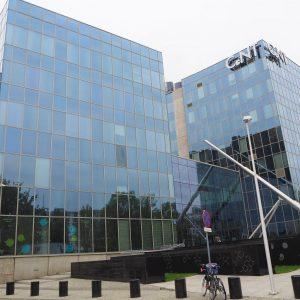 Zdjęcie Welcome Point na Ochocie, budynek CeNT UW