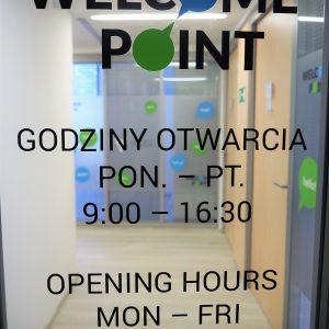 Zdjęcie Welcome Point na Ochocie, godziny otwarcia