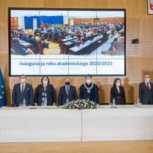 Inauguracja roku akademickiego 2020/2021 Wydziału Nauk Politycznych i Studiów Międzynarodowych, 12 października, fot. WNPiSM