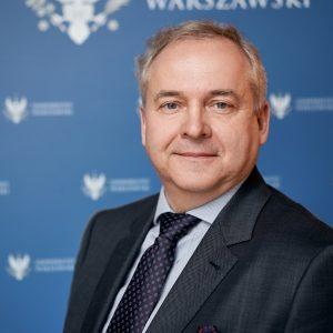 prof. Sambor Grucza, prorektor UW