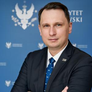 prof. Sławomir Żółtek, prorektor UW