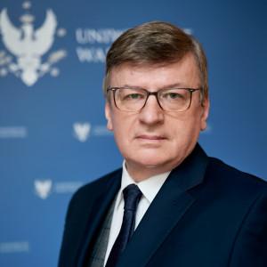 prof. Zygmunt Lalak, prorektor UW