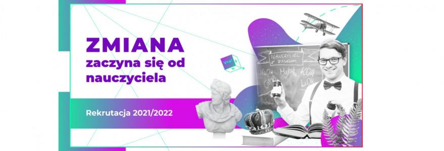 Szkoła Edukacji PAFW i UW, grafika rekrutacyjna 2021/2022