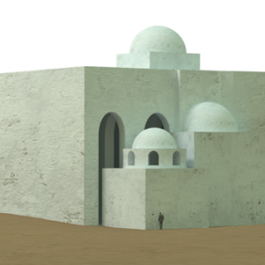 Wizualizacja 3D nowo odkrytego kompleksu; feat CAŚ UWAgnieszka Wujec