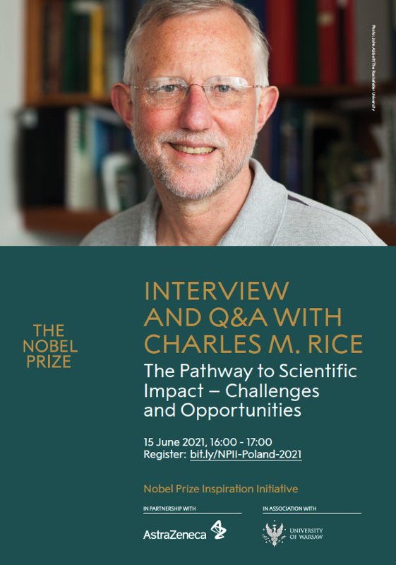 Interview and Q&A with Charles M. Rice.
